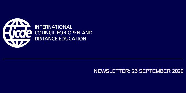 ICDE Newsletter – 23 September 2020
