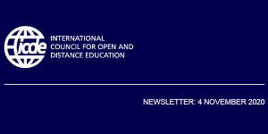 Read more about the article ICDE Newsletter – 4 November 2020