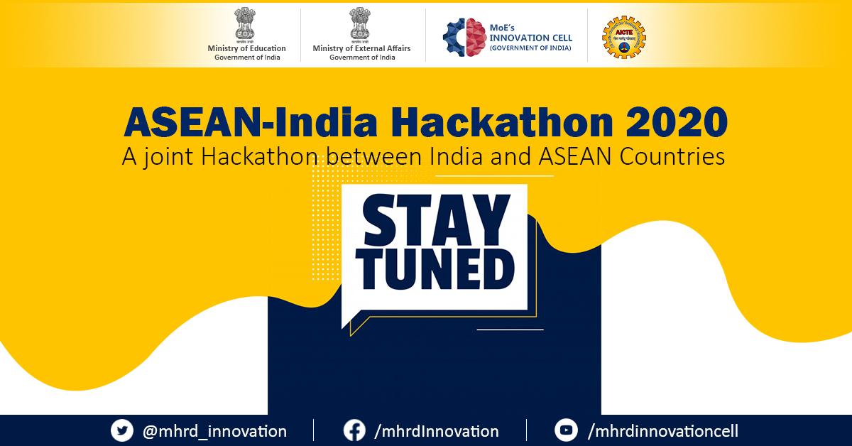 การแข่งขัน ASEAN-India Hackathon 2020