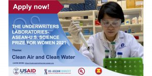 ASEAN – U.S. Science Prize for Women 2021