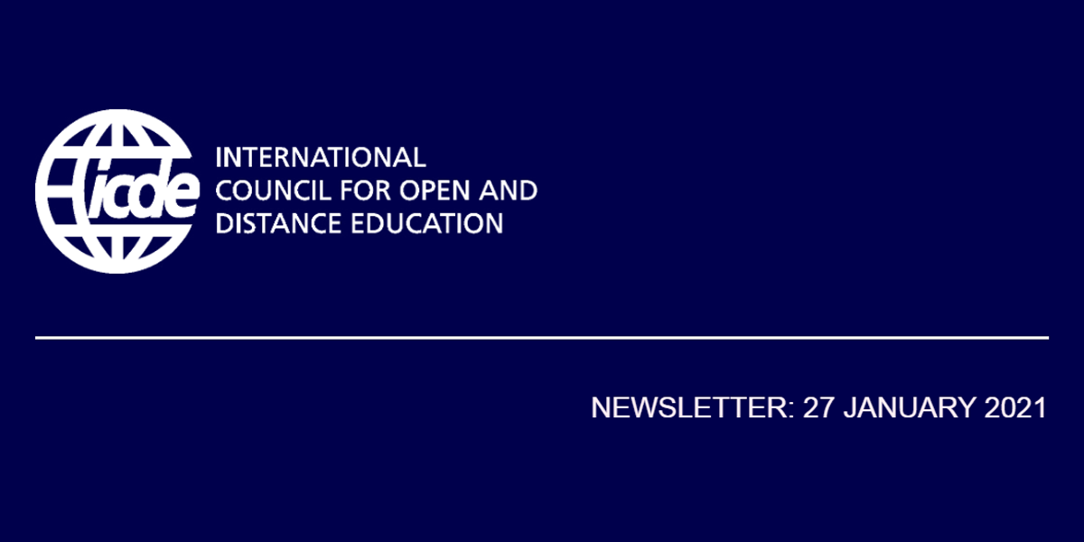 You are currently viewing ICDE Newsletter – 27 January 2021
