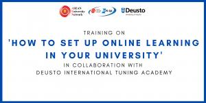 Read more about the article AUN จัดฝึกปฏิบัติ การออกแบบการเรียนการสอนออนไลน์ในมหาวิทยาลัย