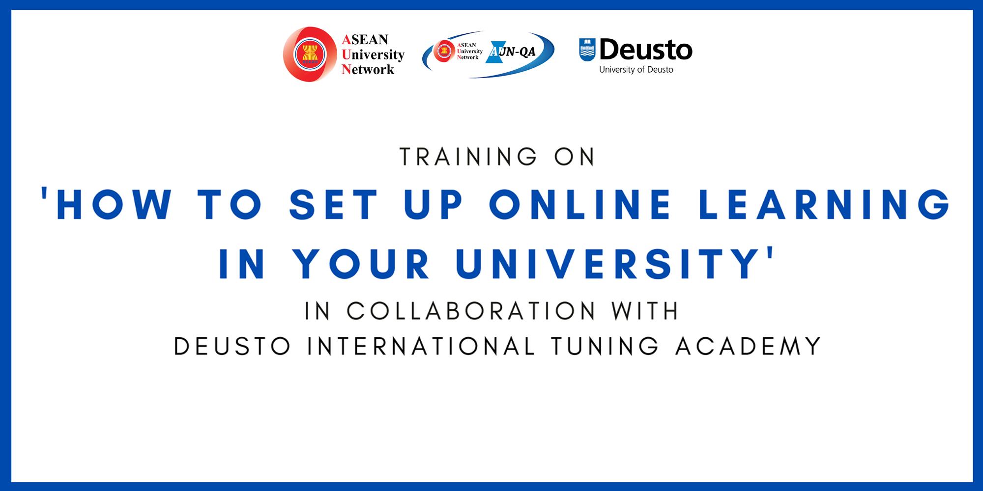 AUN จัดฝึกปฏิบัติ การออกแบบการเรียนการสอนออนไลน์ในมหาวิทยาลัย