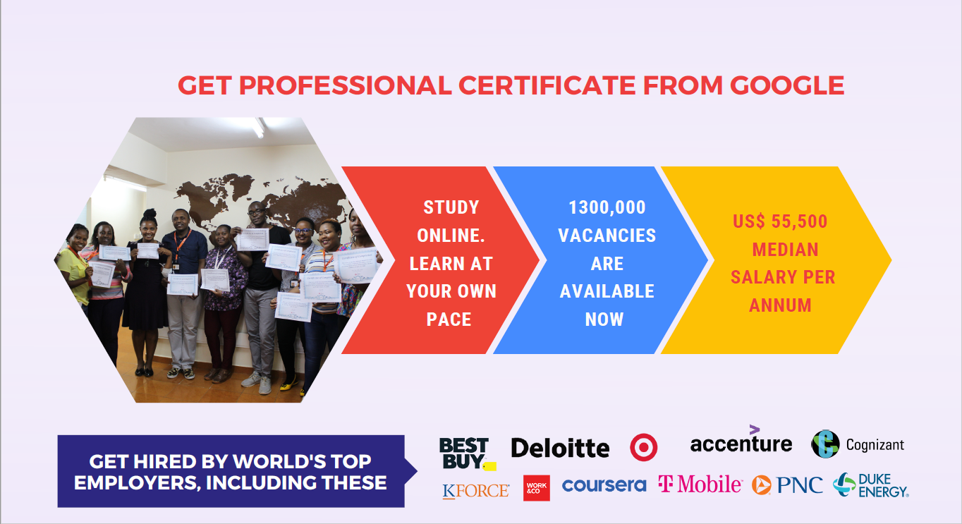You are currently viewing ทุนอบรม COL – Grow with Google Skills for Work