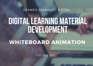 มสธ. ร่วมกับ ซีโมเลค จัดฝึกอบรมเชิงปฏิบัติการ Digital Learning Material Development