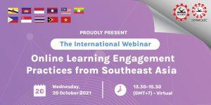 การสัมมนาออนไลน์การเรียนการสอนทางไกลแบบเปิด หัวข้อ Learning Engagement Practices from Southeast Asia